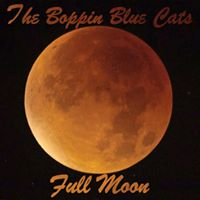 CD-Cover von der Boppin Blue Cats CD Blue Moon
