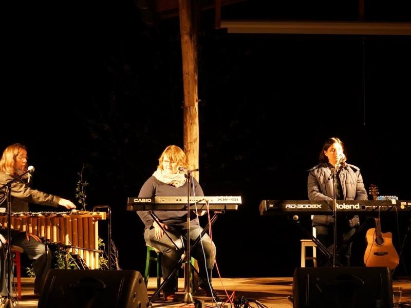 Die vier Frauen der Band Stille Vann live auf der Bühne